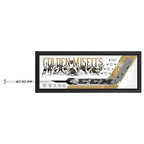- Vegas Golden Knights FAN Authentic Framed Autographed Signed Marc-Andre Fleury Ccm Game Model Goalie Stick Shadowbox With 27 Signatures - Limited Edition Of 18 - Certified Signature