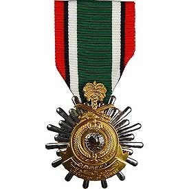 United States Military Armed Forces Full Size Medal - Gulf Wars - Kuwait Liberation Saudi Arabia
