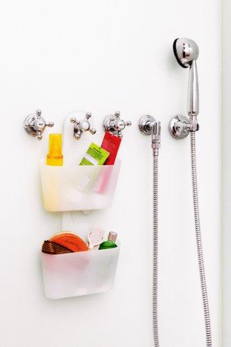 Authentics 1057528 mono recipiente para accesorios de for Accesorios para ducha