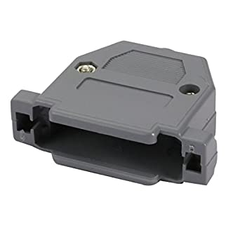 DB25 Serial Port D-Sub Connector Kit Cover Housing Assembly Shell Plastic Hood