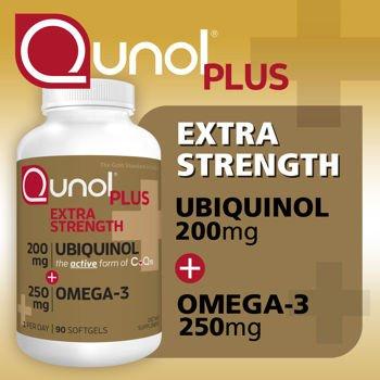 Qunol Extra Strength Ubiquinol Softgels product image