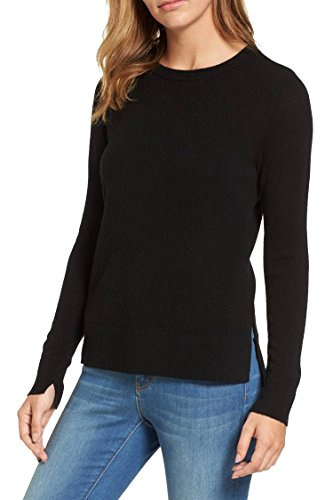 Women Black Fitted Sweaters Long Sleeve Plus Size 12 XL