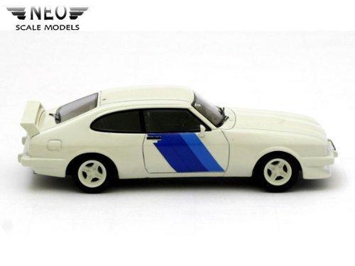 ネオ 1/43 フォード カプリ 3 ターボ `フォードモータースポーツ` 1981 ホワイト/ブルーの商品画像