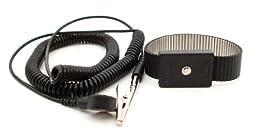 Botron B9478 Premium Adjustable Metal Wrist Strap Set 72\'\'