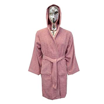 100% Egyptian Cotton Terry Towelling Unisex Dressing Gown Shower ...