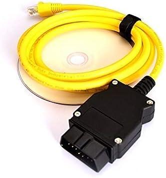 Enet Interfaz de Datos OBDII de Ethernet RJ45 OBD para Todas Las Series FE SYS