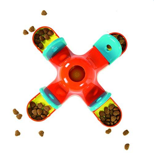 Kyjen Dog Games Puzzle Kibble Drop_DX