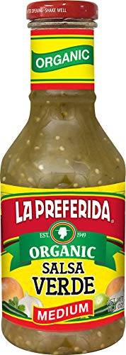La Preferida Organic Salsa Verde, Medium, 16 OZ (Pack - 1) ()