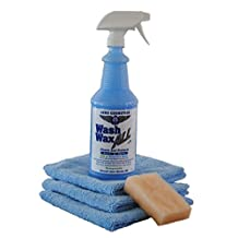 Wet or Waterless Car Wash Wax Kit 32oz Aircraft Quality Wash Wax for your Car RV & Boat