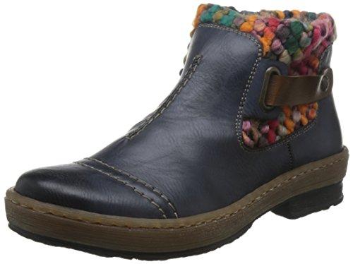 Rieker Z6784-35, Women's Chukka Boots Ocean