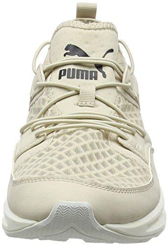 Puma Unisex-erwachsene Fiammata Ignite Più Respirare A Basso-top Beige (farina Davena-avena-puma Bianco 02)