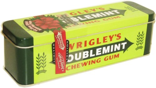(Wrigley Doublemint Heritage Collectible Chewing Gum Tin)
