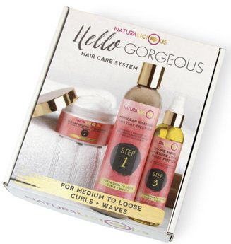 Hello Gorgeous Hair Care System (For Medium to Loose Curls + Waves)