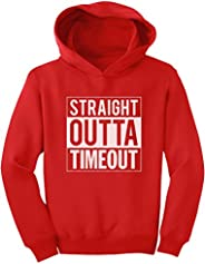 Tstars - Straight Outta Timeout Funny Kids Toddler Hoodie