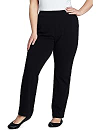 Women's Plus Size Petite Sport Knit Pants
