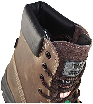 Aimont S3 Score de Chaussures de sécurité de Travail Chaussures à Braun B-Stock