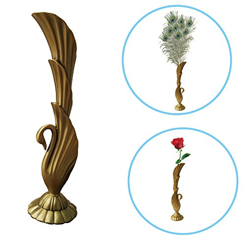 Bronze Peacock - Peacock Bronze Vase, Retro European Ancient Roman Royal Noble Bronze Carved Dragon Jardiniere for Family & Garden