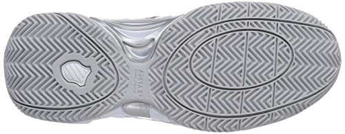 Accomplish K Silver 107 Women's Swiss White Performance Grey Tennis White Shoes LTR AqwT6Erq