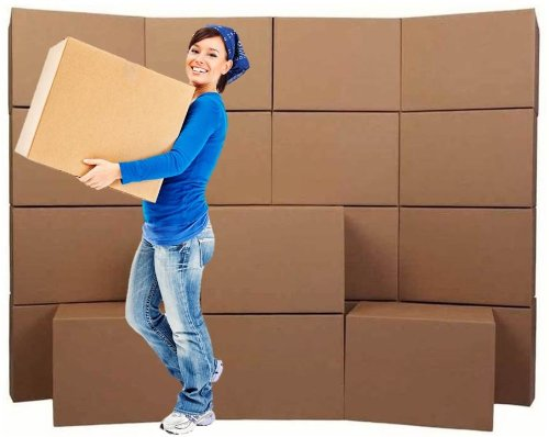 Medium Moving Boxes (20-Pack) - Brand: Cheap Cheap Moving Boxes - Mbx Mover