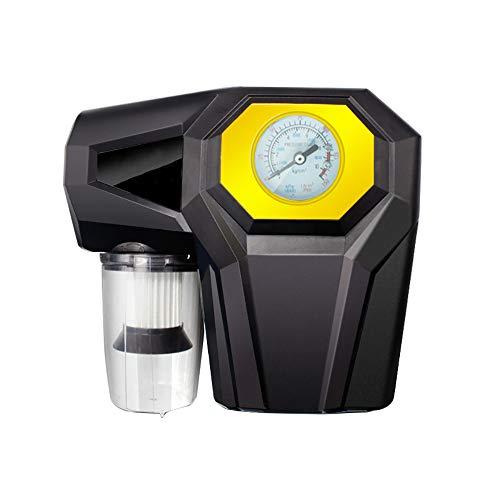 Bomba De Aire Portátil, Bomba De Aire Portátil De Múltiples Funciones 12V, Luz Del LED, Barómetro, Aspiradora, Para El...