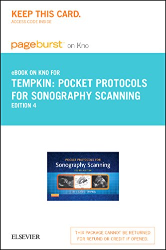 Pocket Protocols For Sonography Scanning   Elsevier Ebook On Intel Education Study  Retail Access Card   4E