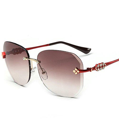 Aoligei L'Europe et les États-Unis personnalité rétro tendance lunettes de soleil fashion-cent gros frame lunettes de soleil nLiOhpAG