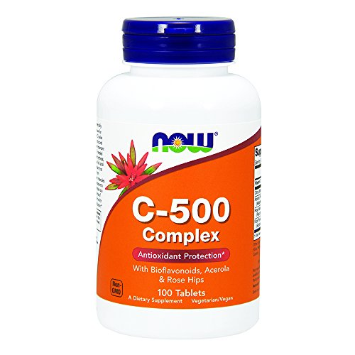 NOW Vitamin C 500 Complex Tablets