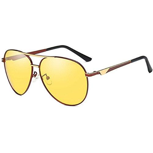 día UV de doble color Aoligei noche de sol hombres Fotosensible y polarizado Shing H uso gafas 7H70qtnz