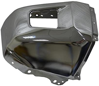 Chrome CAPA Front Bumper Extension Outer for 14-17 Toyota Tundra