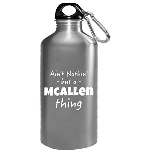 Mcallen Thing Hometown Pride Design - Water Bottle (Mcallen Goods Home)