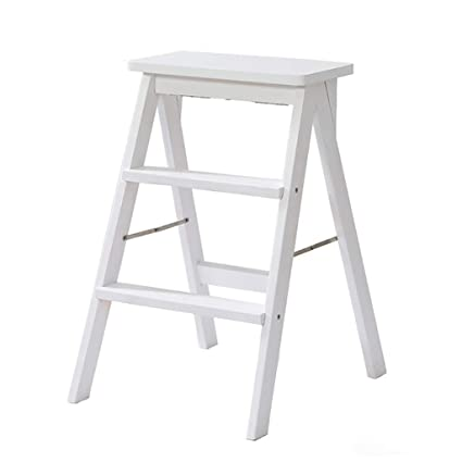 Magnificent Amazon Com Step Stool Solid Wood Step Ladder Stool Best Image Libraries Thycampuscom