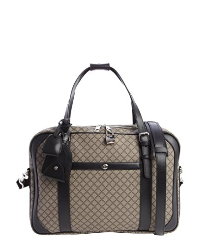 Gucci Men's Beige Ebony And Black Canvas Diamante Print for sale  Delivered anywhere in USA