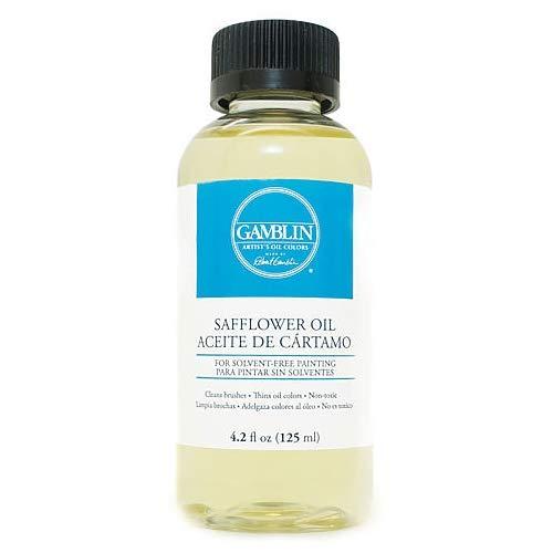 - Gamblin Safflower Oil 4.2 oz Bottle