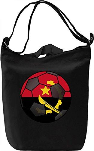 Angola Football Borsa Giornaliera Canvas Canvas Day Bag| 100% Premium Cotton Canvas| DTG Printing|