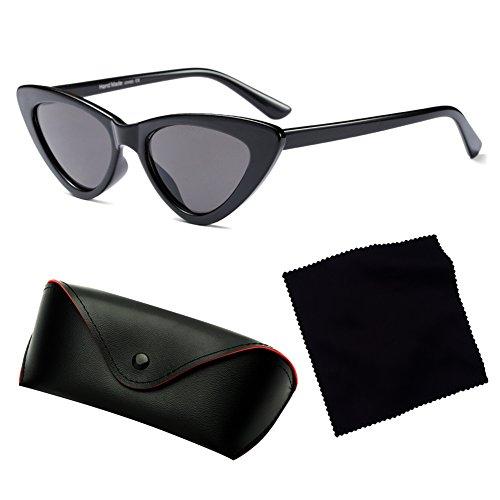 Gafas Glasses sol Retro de UV400 Mujeres Eyewear redondo Hombres C1 hibote C6 0dTwaq