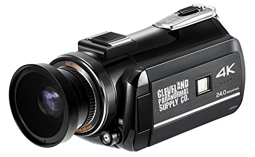4K Ultra HD Infrared Night Vision and Full Spectrum Camcorder - Ghost Hunting Camera]()
