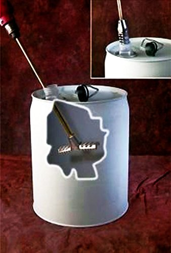 - Swing T-Style Mixer Blade for 3-5 Gallon Bucket or Pail-3/8