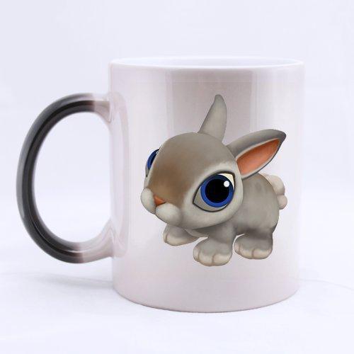 Cartoon Animal Picture Heat Sensitive Color-changing Mug Personalized - Custom Mug - Ceramic Morphing Mug - 11 OZ Coffee/Tea Cup
