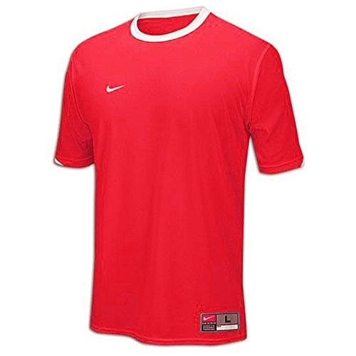 Tiempo Jersey [Red/White] (YM) (Football White Jersey Signature)