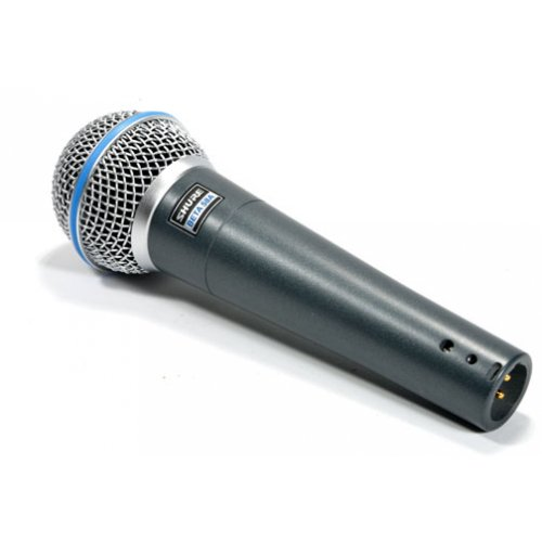 042406054720 - Shure BETA 58A Supercardioid Dynamic Microphone with High Output Neodymium Element for Vocal/Instrument Applications carousel main 3