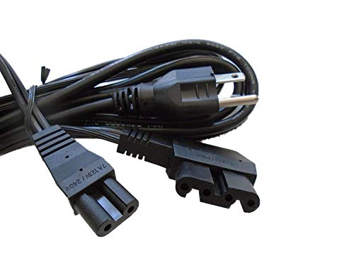 NGOSEW LEAD Motor POWER CORD (2 Prong) # 329.164.04 For Bernina Sewing Machines