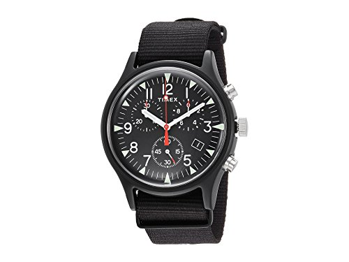 Timex Men's MK1 Aluminum Chrono Black/Black One ()