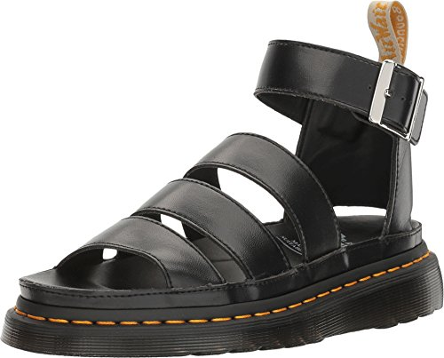 Dr. Martens Women's V Clarissa Ii Black Felix Rub Off Sandal (8 F(M) UK / 10 B(M) US) (Rub Felix)