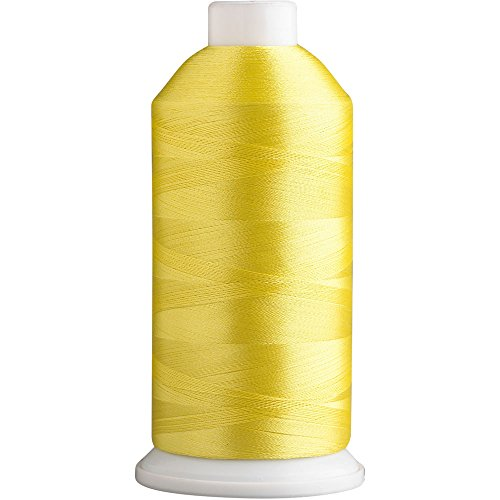 SuperB Polyester Embroidery Thread 40wt 5000m. Yellow Canary 635