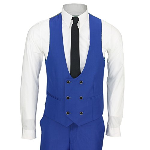 Xposed - Costume - Homme bleu Cornflower Blue Auditor's Target Value