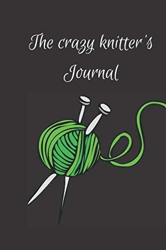 Gift Notebook Blank Lined Knitting Journal | The Crazy Knitter's Journal