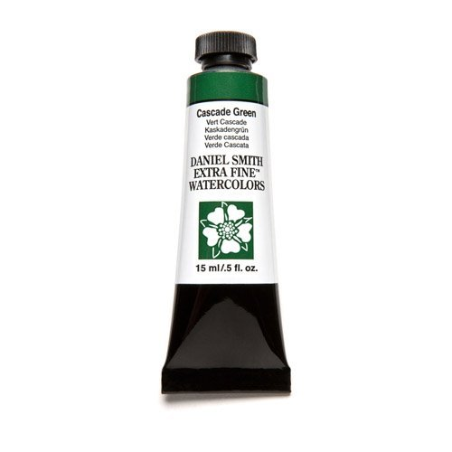 Daniel Smith Watercolour 15ml Tube (S1) - Cascade Green (0142) by Daniel Smith