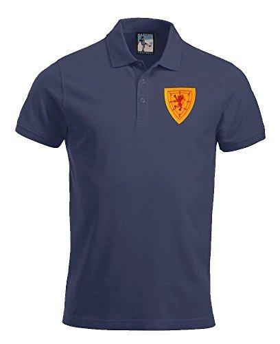 Retro Escocia 1960s Polo Fútbol Nuevo tallas S-XXXL Logotipo ...
