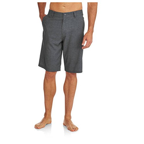 ocean-pacific-op-opflex-mens-stretch-hybrid-swimming-trunks-shorts-28-greystone