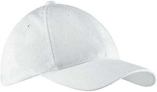 - Flexfit 6997 Low Profile Garment Washed Cotton Cap - Small/Medium (White)